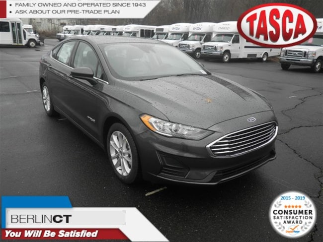 New 2019 Ford Fusion Hybrid SE Sedan for sale in Berlin, CT
