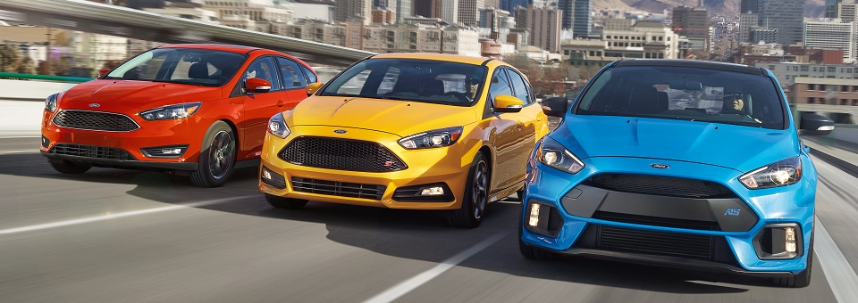New Ford Focus Lineup