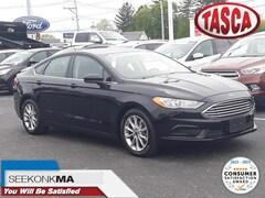 Used 2017 Ford Fusion SE Sedan for sale in Cranston, RI