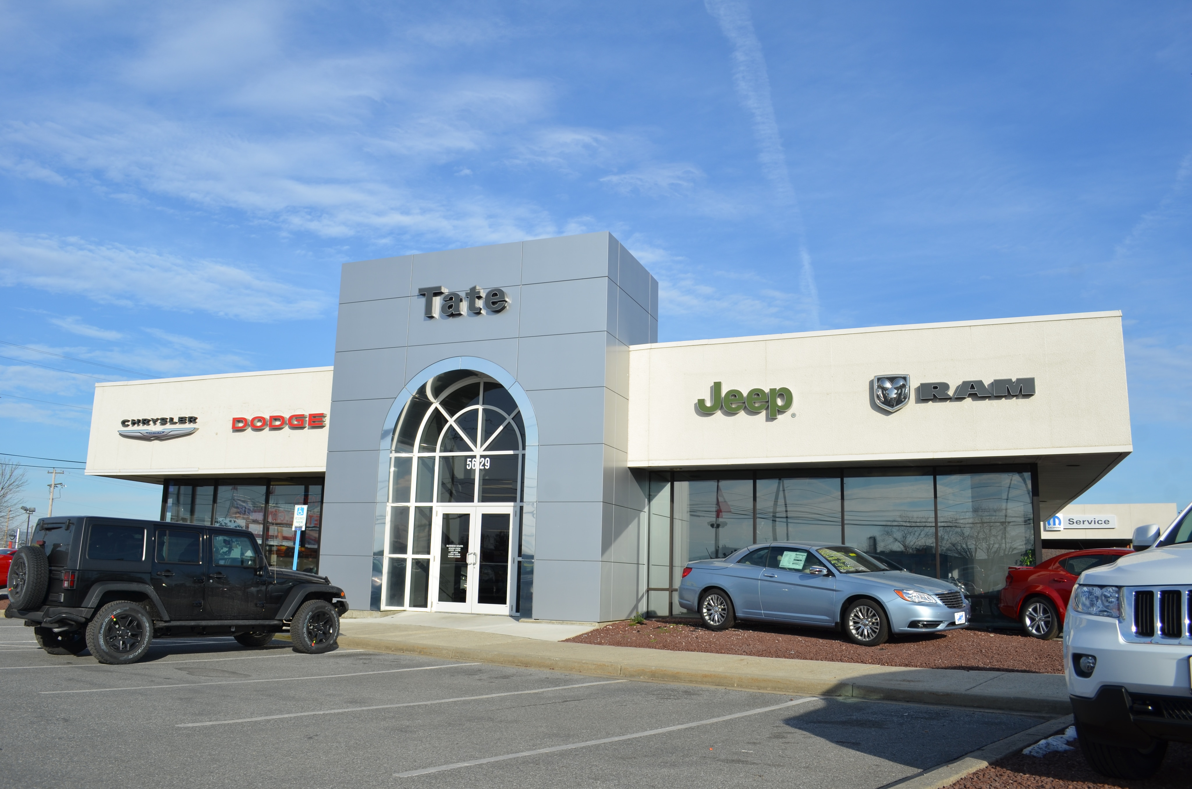 About Us   Tate Chrysler Jeep Dodge Frederick   Hagerstown