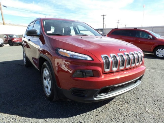 New 2016 Jeep Cherokee SPORT FWD Sport Utility for Sale in Holbrook AZ