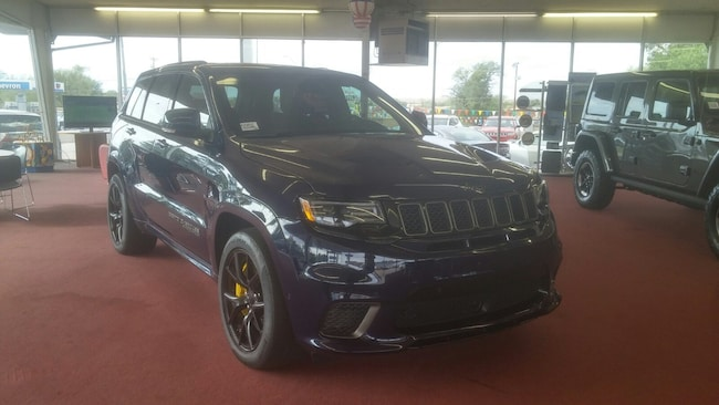 New 2018 Jeep Grand Cherokee TRACKHAWK 4X4 Sport Utility for Sale in Holbrook AZ