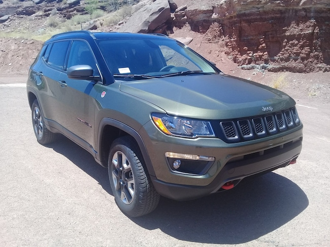 new 2017 jeep compass trailhawk 4x4 for sale holbrook az k22915. Black Bedroom Furniture Sets. Home Design Ideas