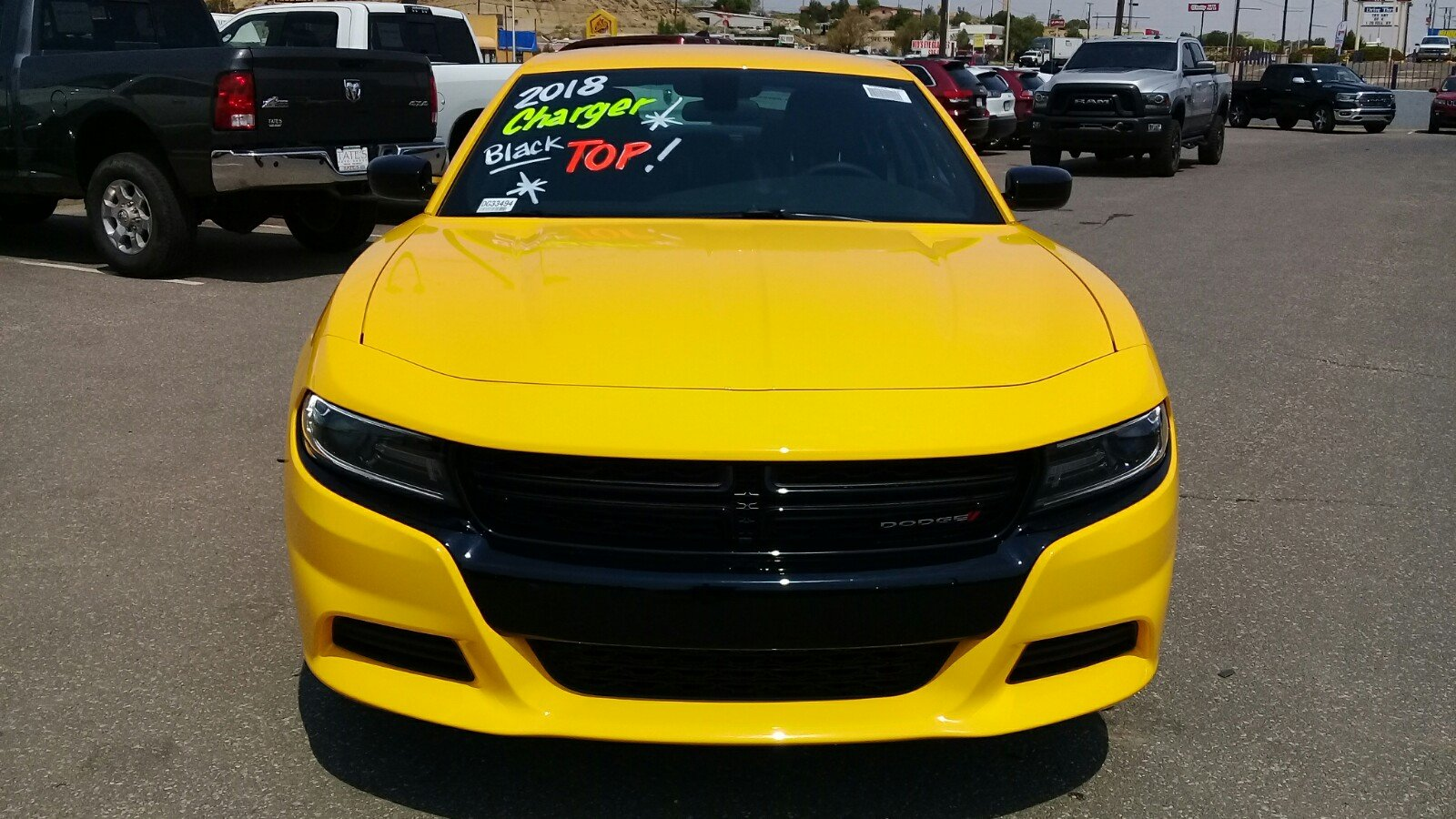 New 2018 Dodge Charger SXT RWD For Sale | Gallup NM DG33494