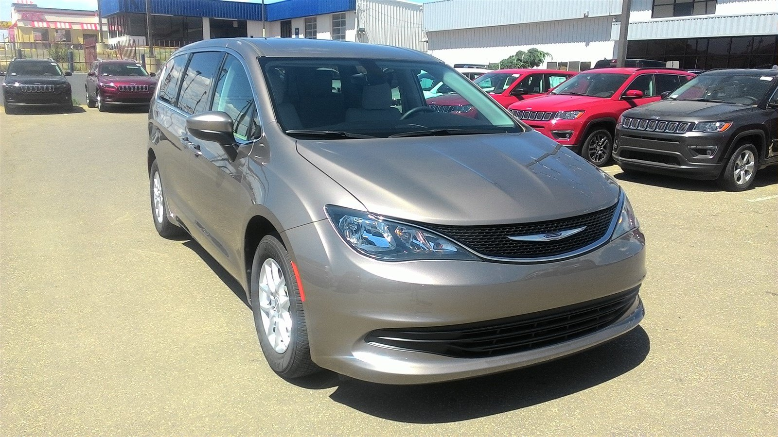 2017 Chrysler Pacifica Passenger Van