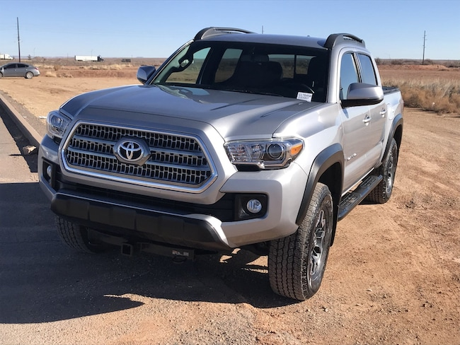 Used 2017 Toyota Tacoma SR SR Double Cab 5 Bed V6 4x4 AT for Sale in Winslow AZ