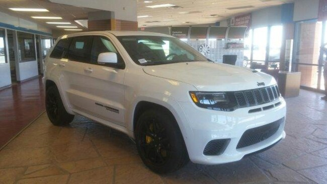 New 2018 Jeep Grand Cherokee TRACKHAWK 4X4 Sport Utility for Sale in Winslow AZ