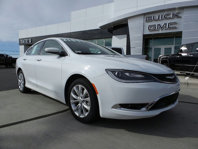 2015 Chrysler 200 For Sale >> Used 2015 Chrysler 200 For Sale At Tate S Nissan Vin 1c3ccccb0fn545084