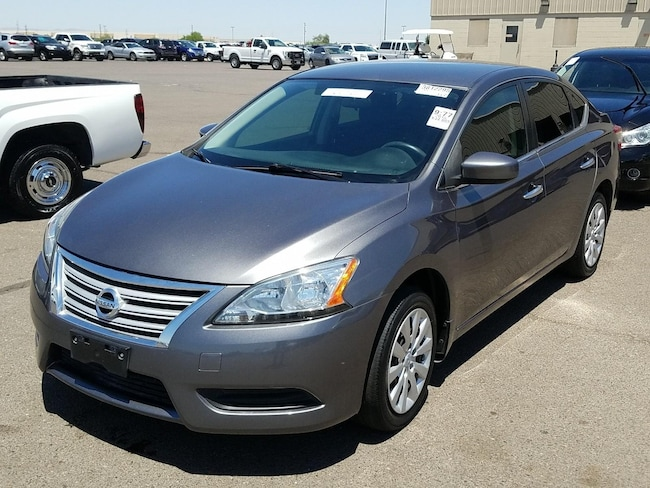 Used 2015 Nissan Sentra S Sedan for Sale in Show Low AZ