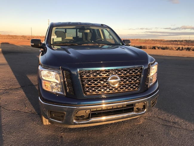 New 2019 Nissan Titan SV Truck Crew Cab for Sale in Winslow AZ