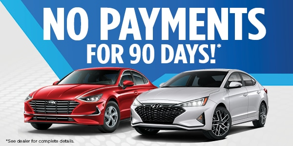 No Payments For 90 Days!