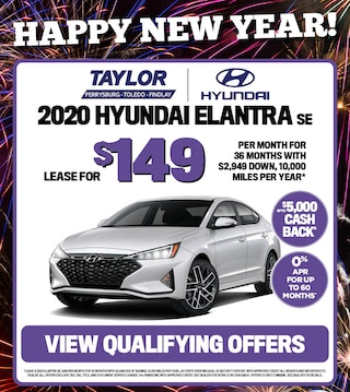 January Specials - 2020 Hyundai Elantra