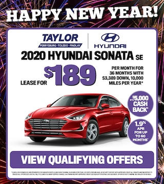 January Specials - 2020 Hyundai Sonata