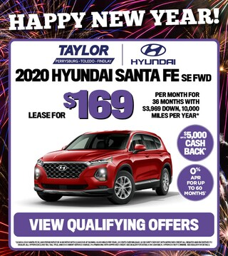 January Specials - 2020 Hyundai Santa Fe