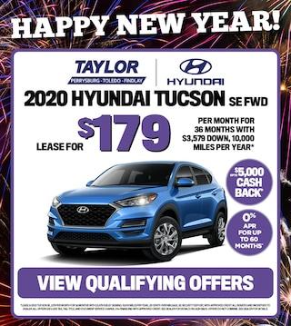 January Specials - 2020 Hyundai Tucson