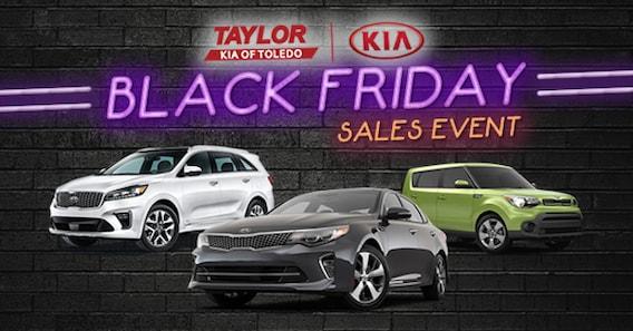 Black Friday Car Deals >> Black Friday Sales Event Toledo Kia Dealer