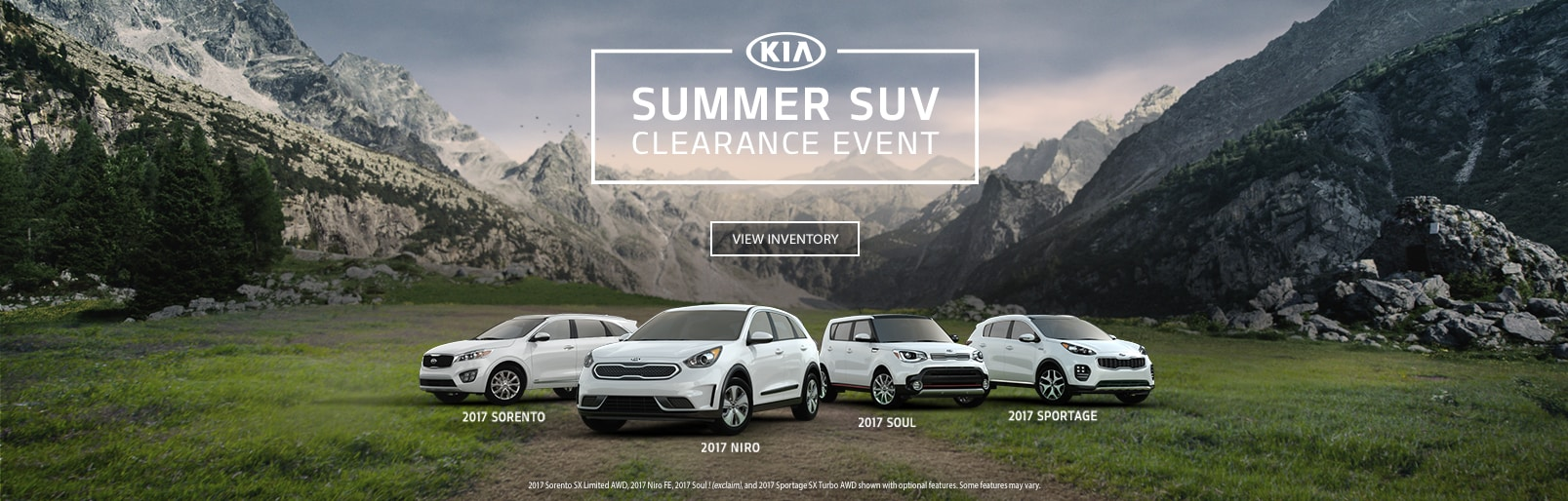 Summer SUV Clearance Event