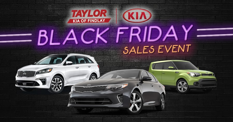 Kia Black Friday Sales Event