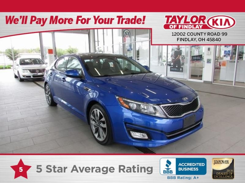 2015 Kia Optima SX Turbo FWD Sedan