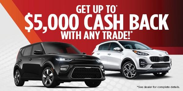 Up to $5,000 Cash Back
