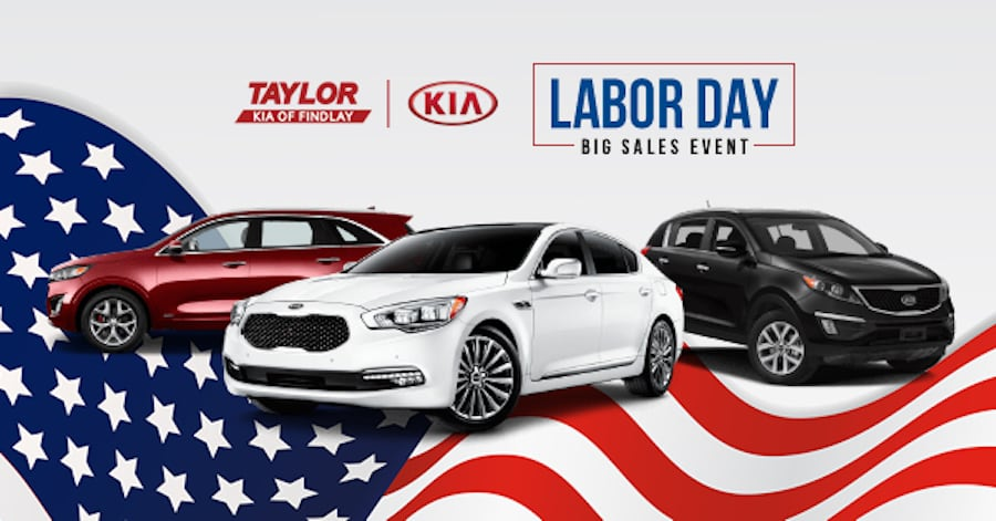 Kia Labor Day Sales Event Near Tiffin