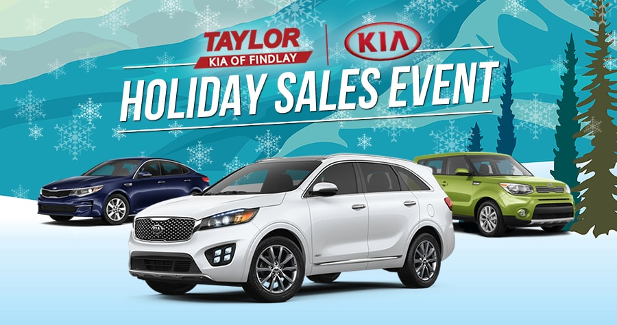Kia Holiday Sales Event