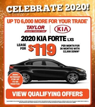 January Specials - 2020 Kia Forte