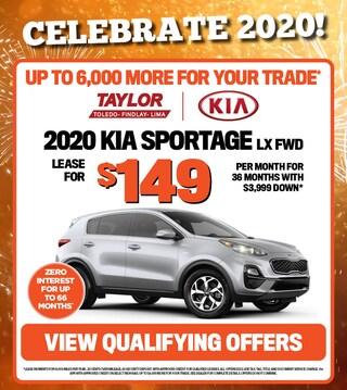 January Specials - 2020 Kia Sportage