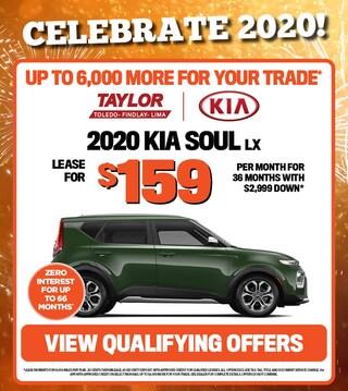 January Specials - 2020 Kia Soul