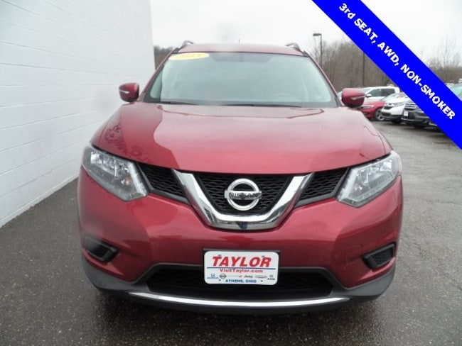Used 2015 Nissan Rogue SV For Sale | Athens OH