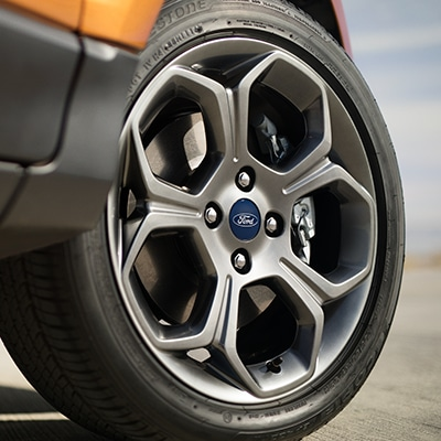 Ford EcoSport's Rim Base