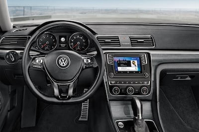 2018 VW Passat dashboard
