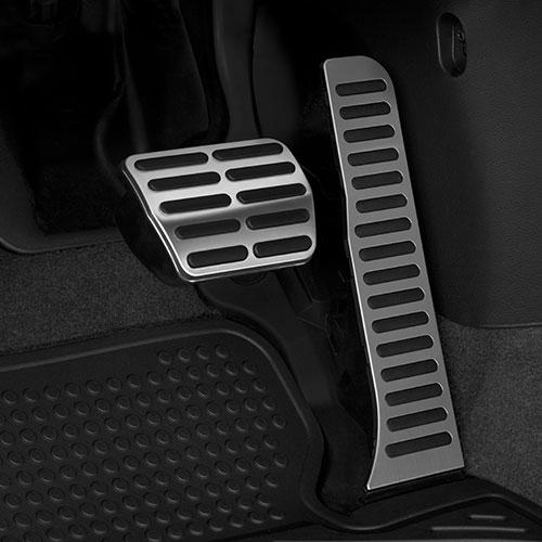 VW pedal caps