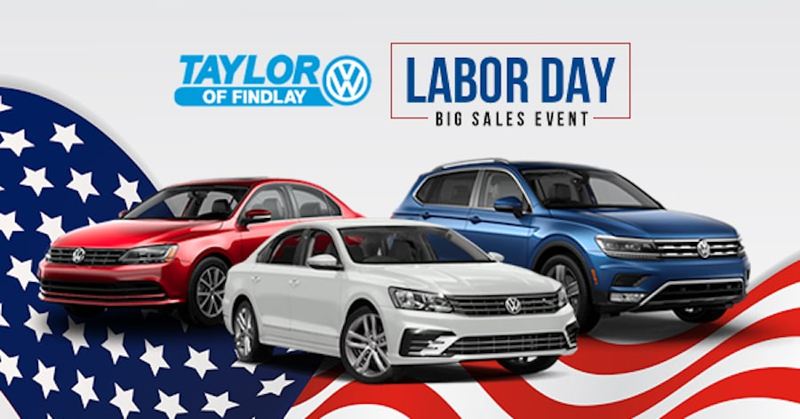 VW Labor Day Sales Event near Bowling Green