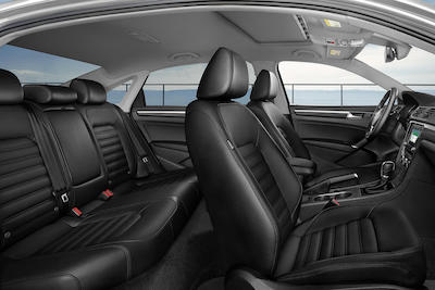 2018 VW Passat seating