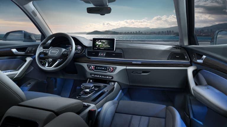 2020 Audi Q5 Leather Interior Dashboard