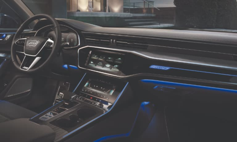 2019 Audi A6 Interior Ambient Lighting