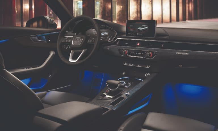 2019 Audi A4 Ambient Interior Lighting