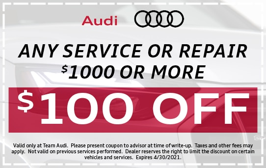 $100 Off Service or Repair Over $1000