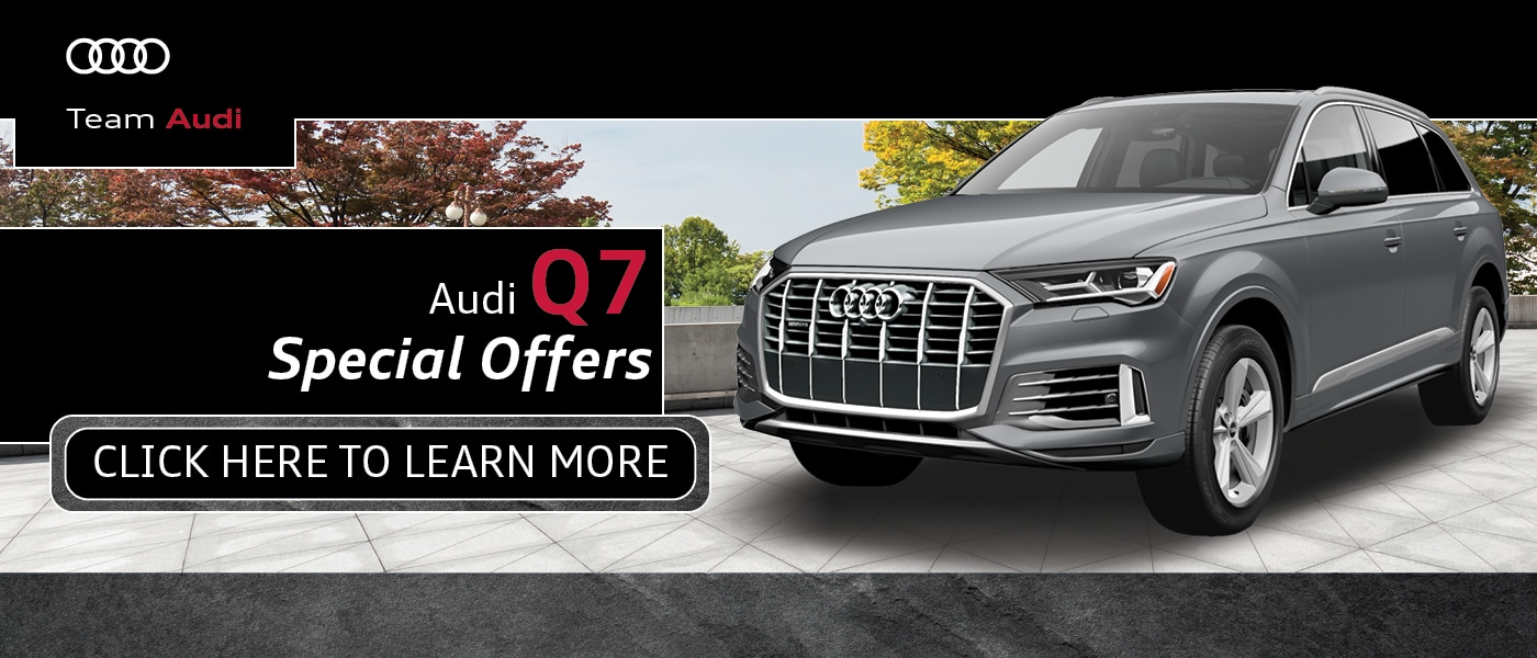 Audi Q7 Special Offers