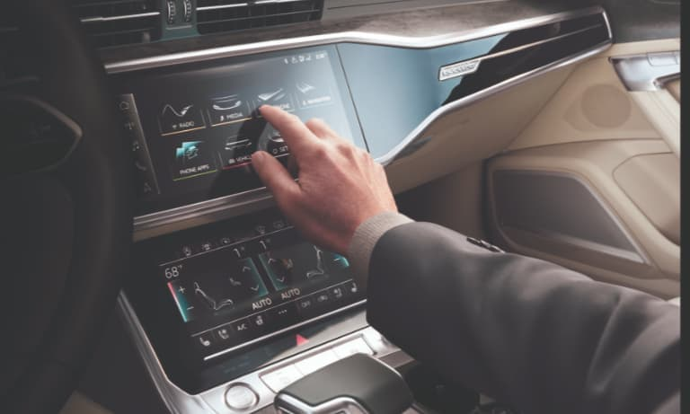 2019 Audi A6 Touchscreen