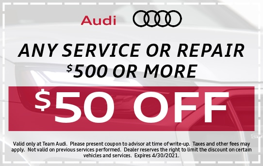 $50 Off Service or Repair Over $500