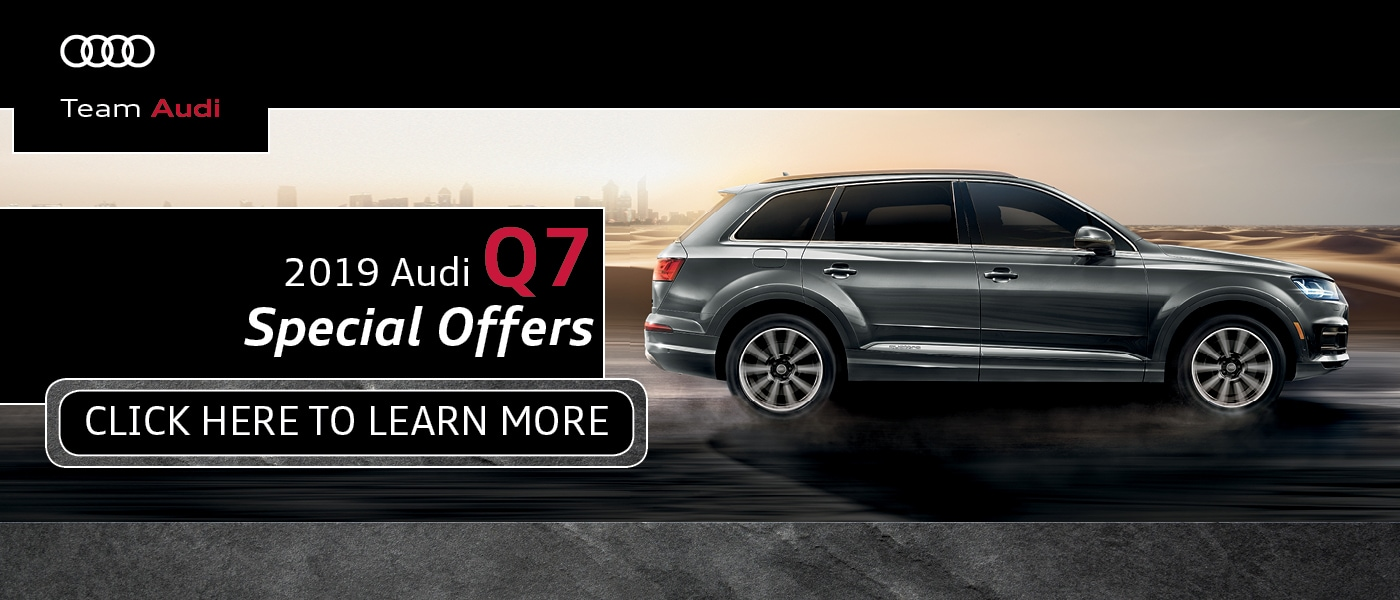 2019 Audi Q7 Special Offers