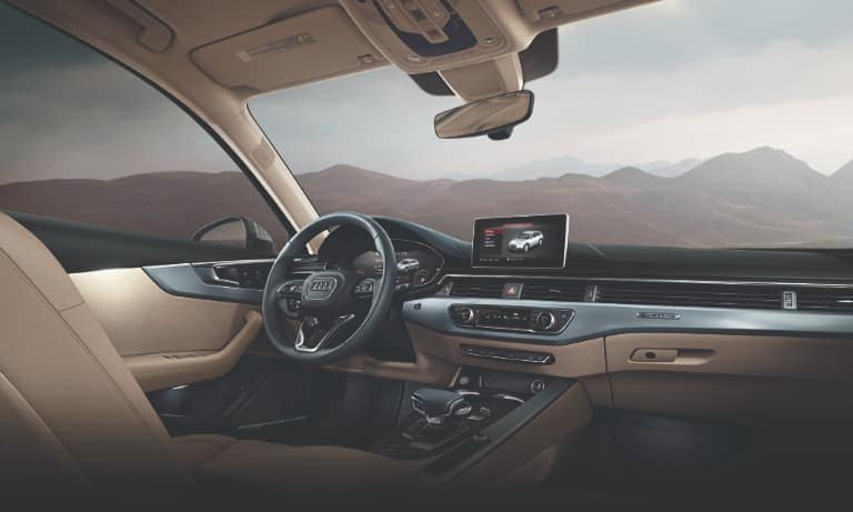 2019 Audi A4 Tan Leather Interior