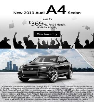 2019 Audi A4 Sedan-Lease