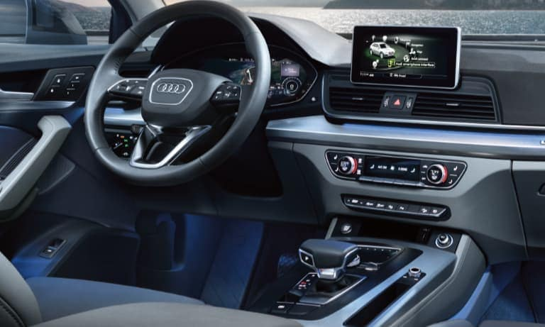 2019 Audi Q5 Leather Interior Dashboard