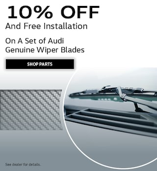 A Set of Audi Genuine Wiper Blades