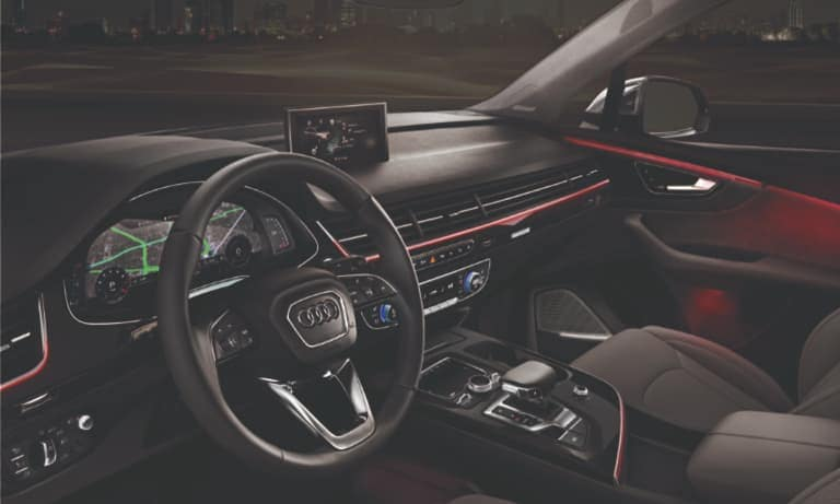 2019 Audi A7 Leather Interior Dashboard