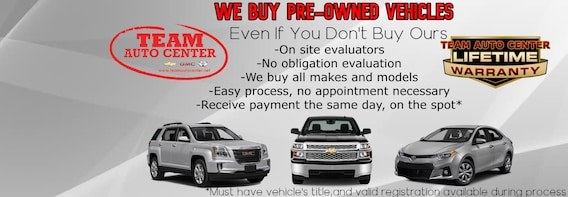 Team Auto Center | New GMC, Chevrolet, Toyota Dealership in