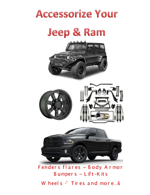 Car Parts Specials in Mississauga | TEAM CHRYSLER JEEP DODGE RAM